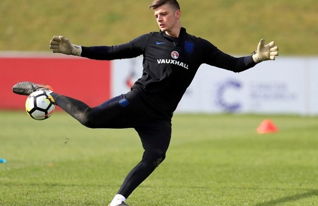 From non-league to World Cup, Pope dreams of keeping for England