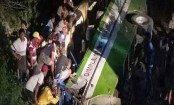 Philippine bus careens into ravine, killing 19, injuring 17