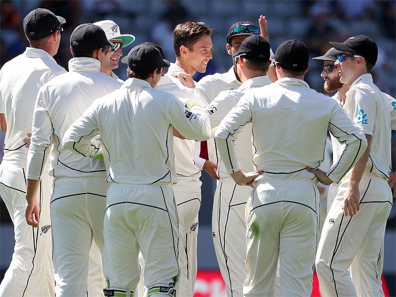 Thunder Boult destroys England for 58 in 1st innings