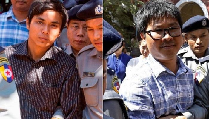 Reuters journalists clock up 100 days in Myanmar jail