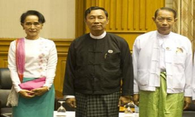 Myanmar parliament elects new speaker