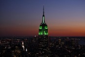 Lights out for world landmarks in nod to nature
