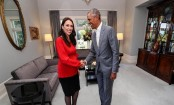 Obama shares parenting tips with New Zealand PM Ardern