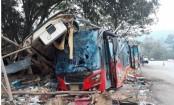 At least 18 killed in Thai bus crash
