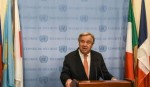 UN chief alarmed by chemical attacks in Syria