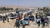 First rebels leave Syria enclave under Russian-brokered deal