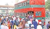 BRTC double-decker bus