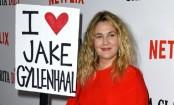 Drew Barrymore declares love for Jake Gyllenhaal