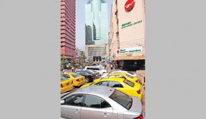 City commuters suffer for illegal parking
