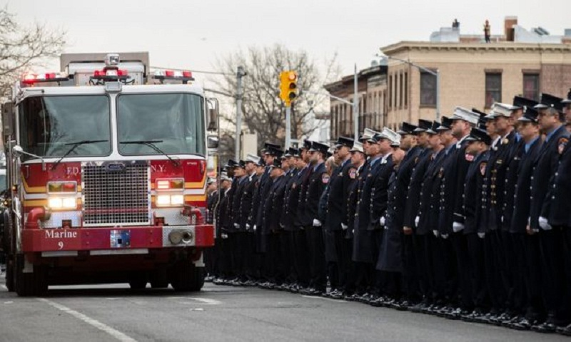 Obituary: The 9/11 rescuers who died a day apart, 17 years on