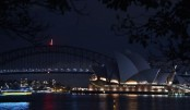 Sydney goes dark as global Earth Hour climate campaign kicks off