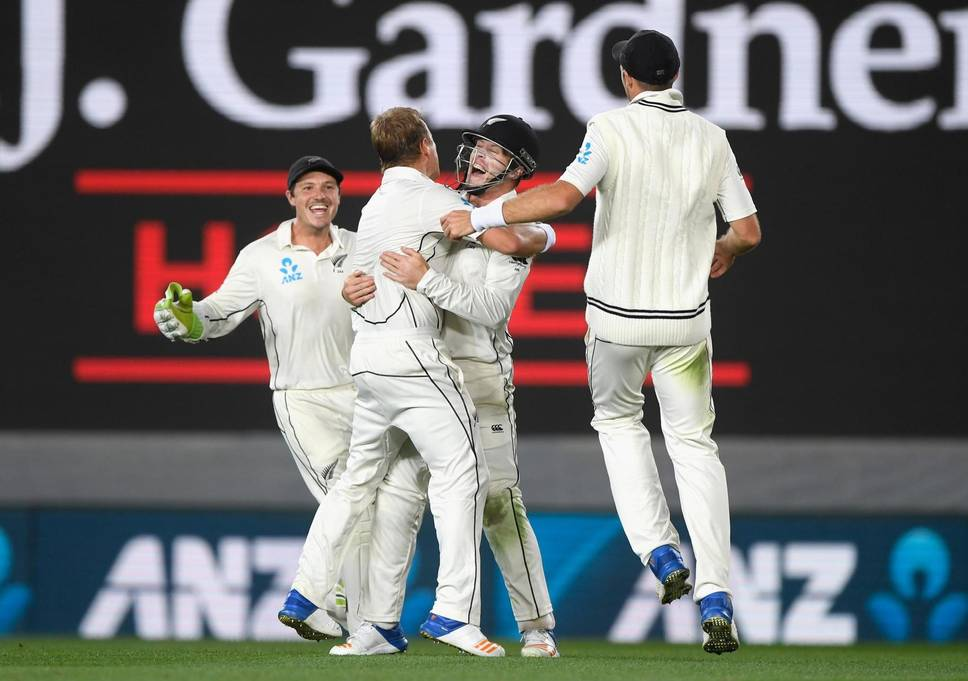 New Zealand beat England by innings and 49 runs in first test