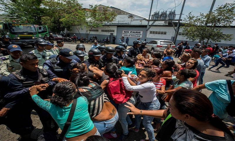Carlos Nieto, head of the association Una Ventana a la Libertad (A Window  on Freedom), says some police facilities are overfilled at five times their  ...
