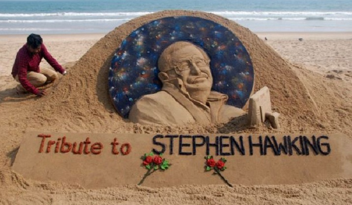 Family, friends bid farewell to Stephen Hawking