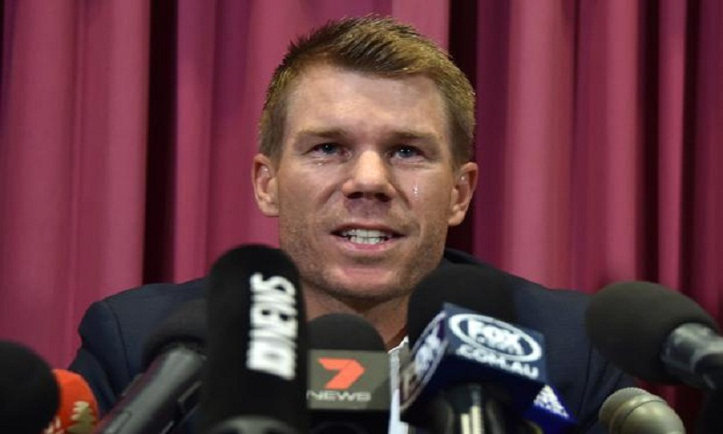 Australia ball-tampering: David Warner 'resigned' to not playing for country again