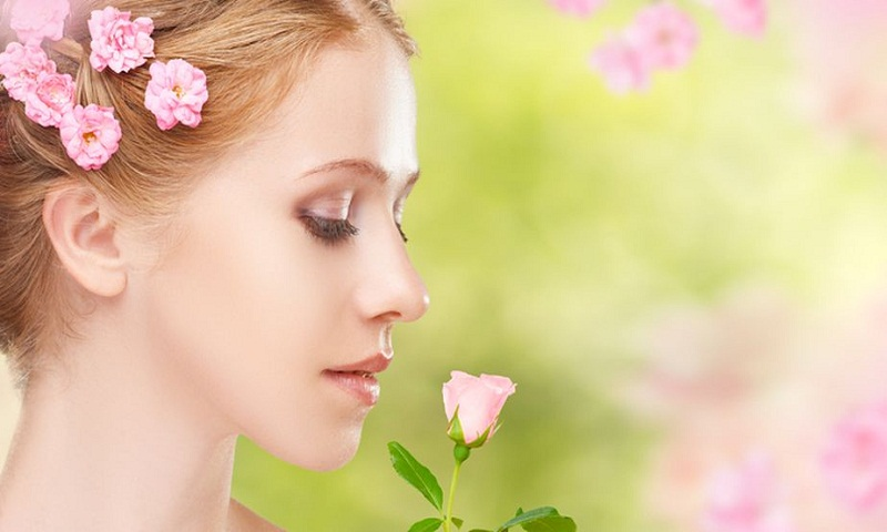 Flower power in skincare regime