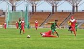 Bangladesh U-15 eves  continue domination