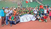Girls grab four-nation glory