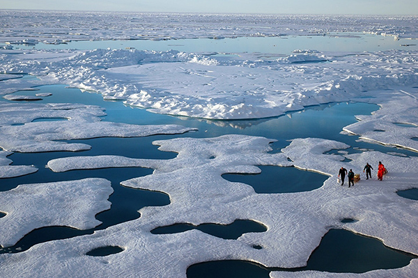 2C cap on global warming won't save Arctic sea ice: studies