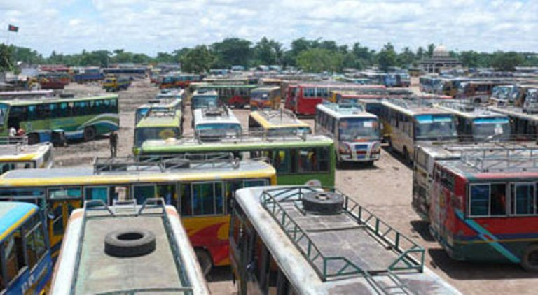 Transport strike underway in 15 southern districts
