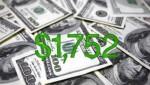 Per capita income rises to $1,752