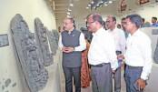 Shringla visits Rajshahi