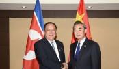 Chinese, N Korean FMs meet ahead of major summits