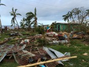 Fiji PM links climate change to fatal cyclone