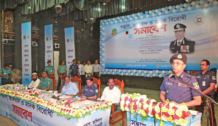 Bangladesh role model for resisting terrorism: IGP