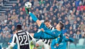 Ronaldo fires Real past 10-man Juve