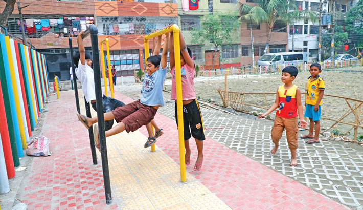 DNCC parks, playgrounds get facelift