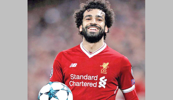 SALAH FINE BUT DOUBT TO FACE EVERTON