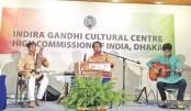 Mahadeb Ghose enthralls audience at Nat'l Museum