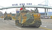 South Korean Marine amphibious assault vehicles