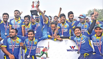 Abahani rout Rupganj, bag 19th DPL title