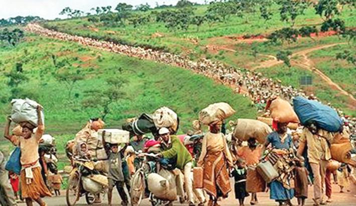 Civil war erupts in Rwanda