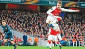 Arsenal move towards Europa League semis