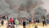 Two Palestinians killed as fresh clashes erupt along Gaza border