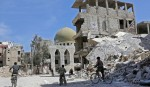 Fresh raids pound Syrian Douma after talks falter