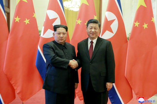 China bans exports to North Korea of weapons-related goods