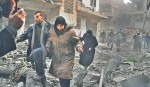 'Chemical' attack in Syria sparks int'l outrage