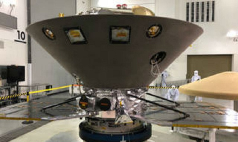NASA's InSight Mars lander set to launch on May 5