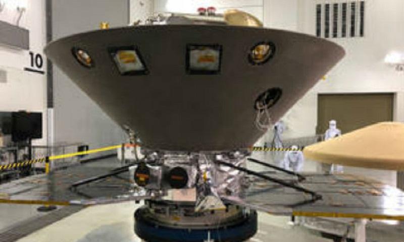 NASA's InSight Mars lander set to launch on May 5