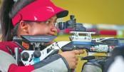 Shooter Zakia finishes 4th, Shakil 6th