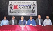 3-day int'l mime festival ends today