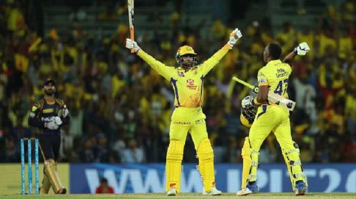 CSK chase 203 in blockbuster finish to homecoming