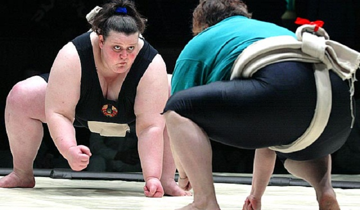 Girls banned from Japan sumo event amid sexism uproar