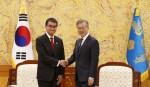 S Korea, Japan vow to work on N Korea
