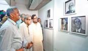 Nasir Ali's solo portrait exhibition begins in city