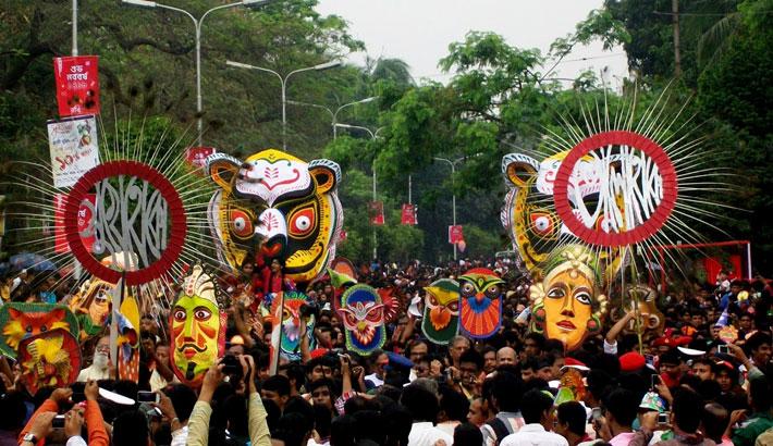 All set to celebrate Pahela Baishakh